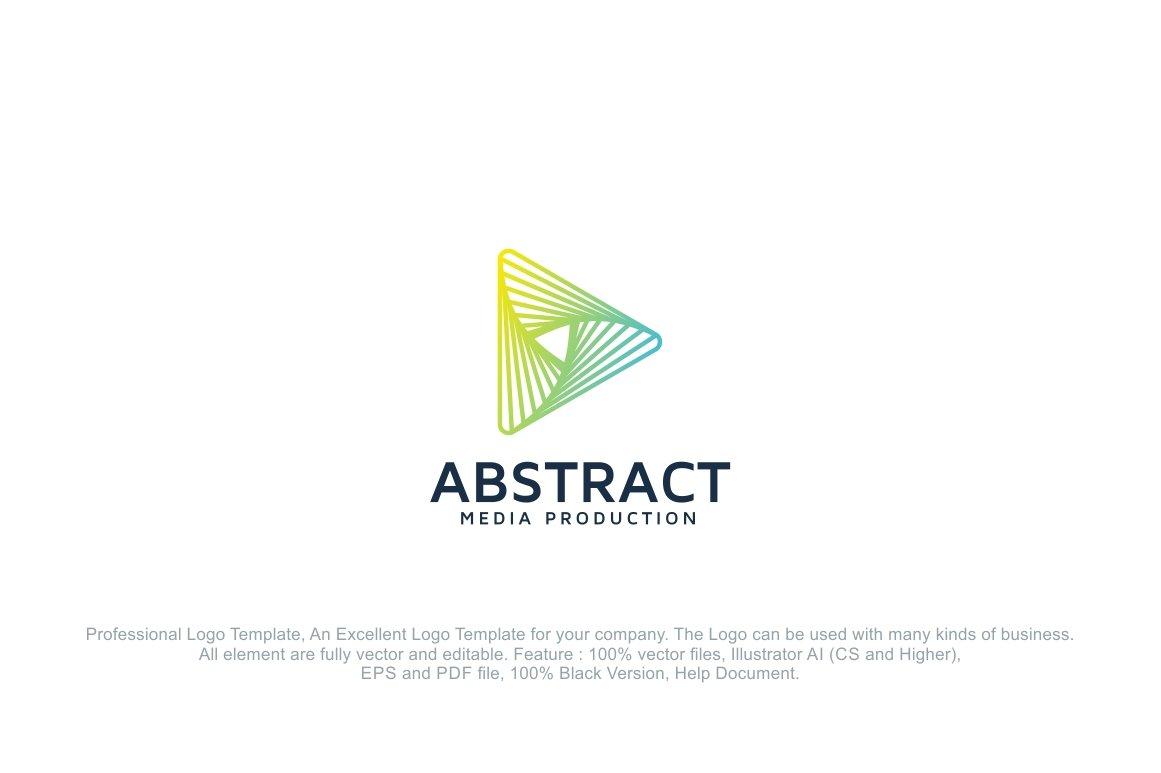 Abstract Media Production Logo ~ Logo Templates ~ Creative
