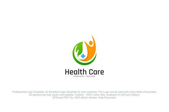 Health Care Body Logo Template