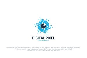 Digital Pixel Photography Logo