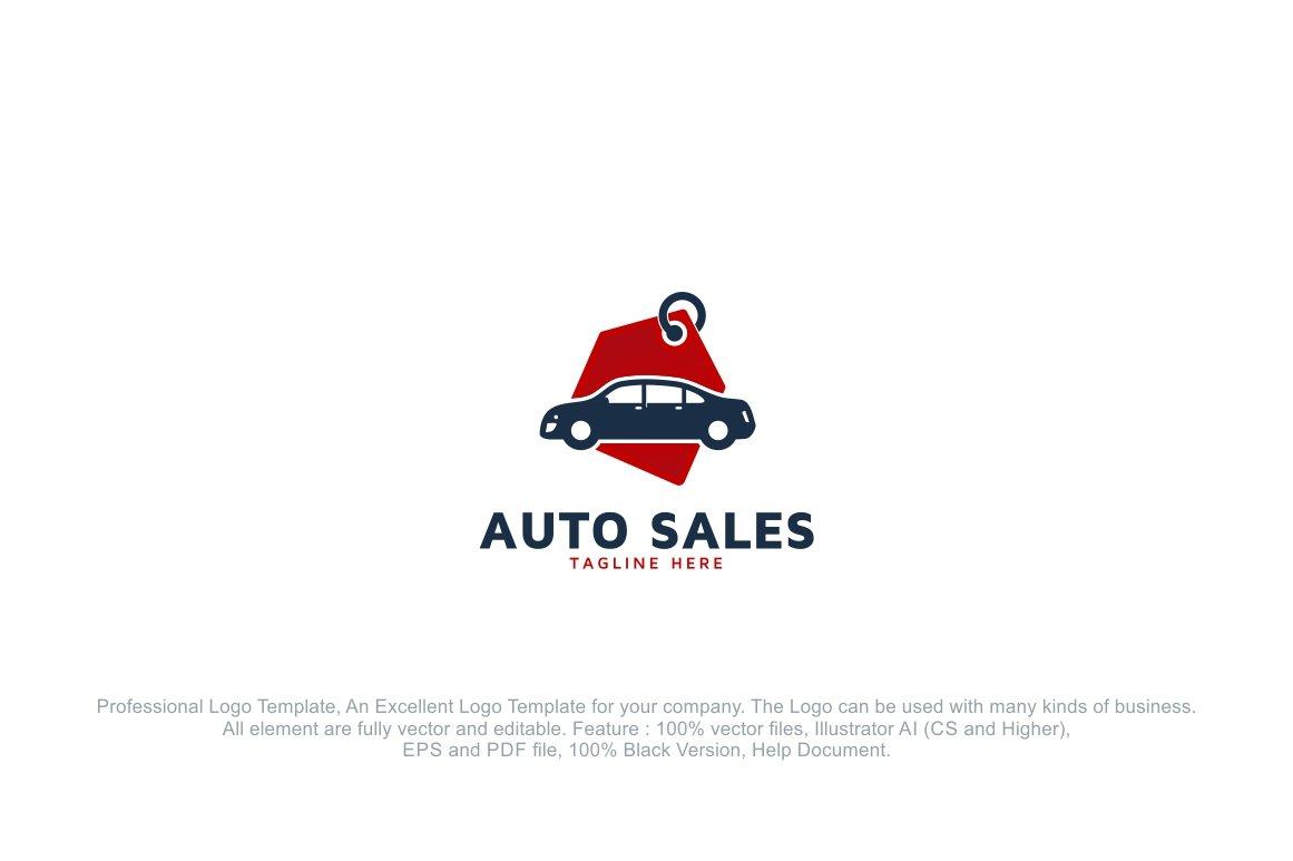 Automotive Car Sales Logo Template ~ Logo Templates