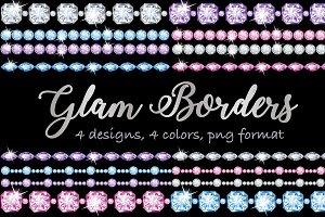 Glam borders