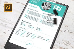 Vector CV Template