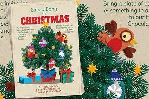 Christmas Carols Sing a Long Flyer