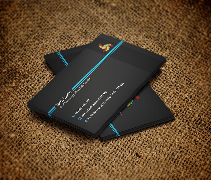 Black Beauty - Business Card ~ Business Card Templates ~ Creative Market