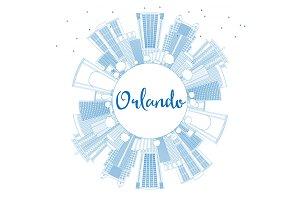 Outline Orlando Skyline