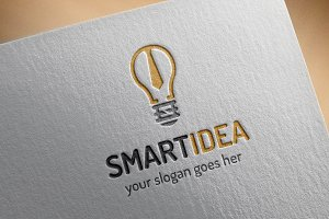 Smart Idea Logo Template