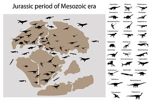 Dinosaurs of jurassic period