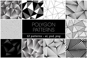 12 POLYGON TRIANGLE PATTERNS