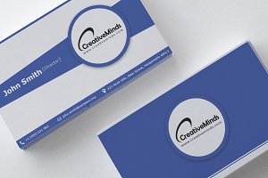 Bleed Blue - Business Card