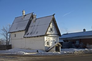 Old townsman house in Suzdal, Russia
