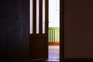 Open the room door