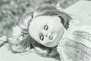 Doll sleeping