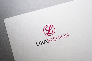 Lira Fashion Letter L Logo