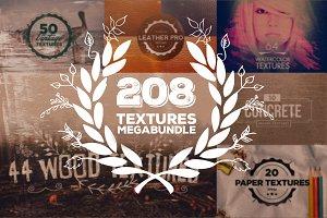 208 Textures Megabundle