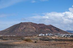 landscape of Lanzarote
