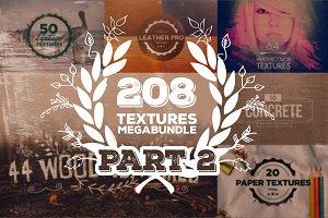 208 Textures Megabundle: Part 2