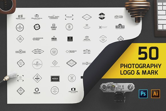 50 Photography Logo