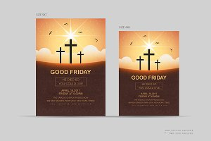 Good Friday Flyer / Church Flyer