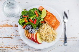 My plate portion control guide