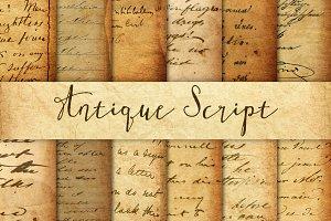Antique Script Textures