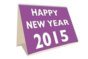 2015 calendar vector and raster