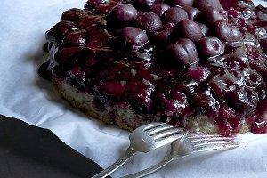 Cherry Upside-down Cake dessert