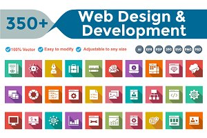 WebDesign Development Square Shadow