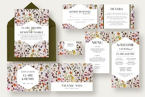 Floral Vine Wedding Suite