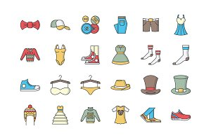31 Clothing Icons