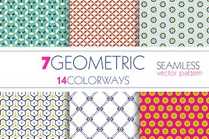 Vector Seamless Geo-Pattern