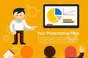 Vector Business Presentation Design