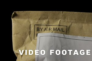 The message by air mail