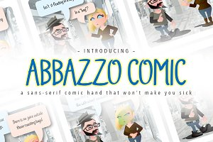Abbazzo Comic Handwriting Font