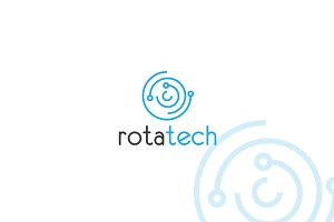 Rotatech Logo Template