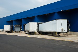 distribution warehouse for trucks