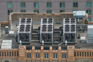 Air Conditioner ventilation system