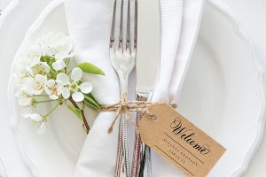 Place Card Tag - Editable PDF