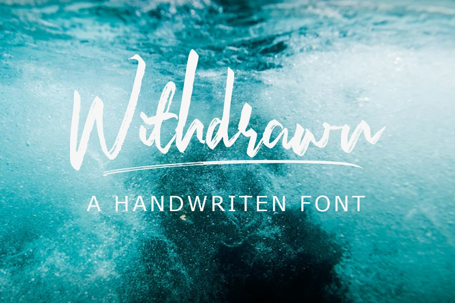 Withdrawn Font and Extra - Save 25%