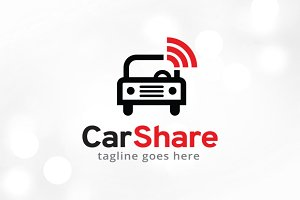 Car Share/Search Logo Template
