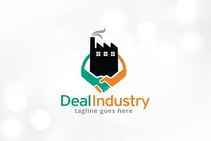 Deal Industry Logo Template Design