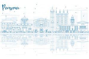 Outline Parma Skyline