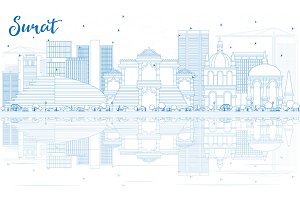 Outline Surat Skyline