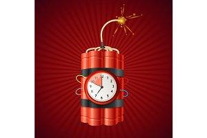 Detonate Dynamite Bomb and Timer