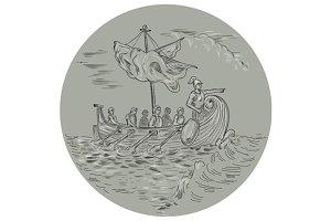 Ancient Greek Trireme Warship