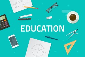 Education Learning Maths Vector