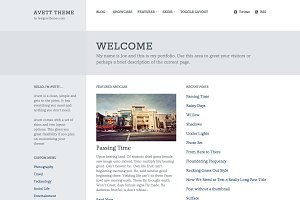 Avett, a Responsive WordPress Theme