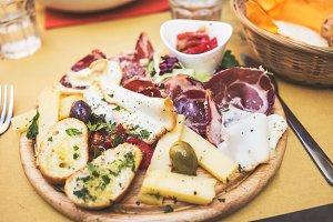 Sicilian antipasto