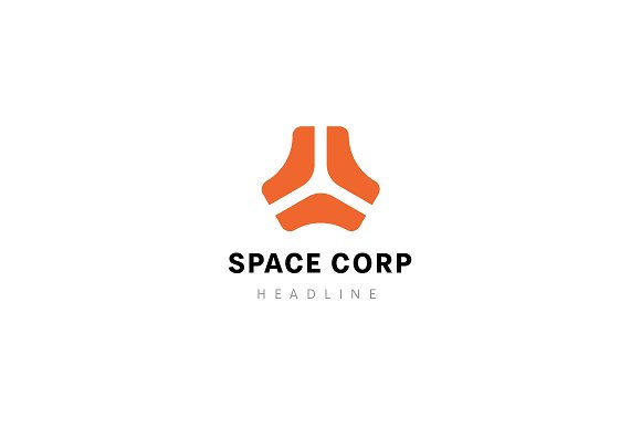 Space Corporation Logo