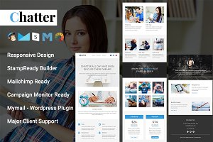 Chatter - Responsive Email Template