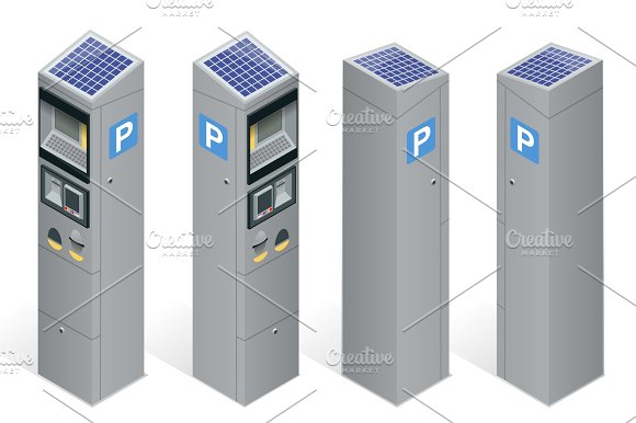 Parking Meter Allowing Payment By Mobile Phone Credit Cards Co